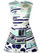 Kenzo 'Torn' Dress - Lyst