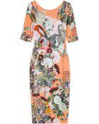 Mary Katrantzou Plie Printed Jersey Dress - Lyst