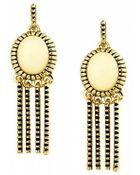 House Of Harlow 1960 Sunburst Fringe Earrings - Lyst