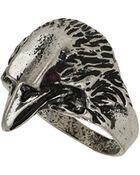 Topshop Eagle Head Ring - Lyst