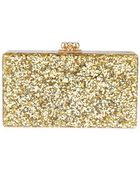 Edie Parker 'Jean Solid' Box Clutch - Lyst