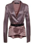 Haider Ackermann Silk-Blend Jacket - Lyst