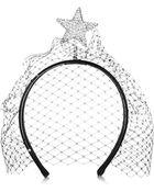 Piers Atkinson Star Of Night Embellished Leather Headband - Lyst