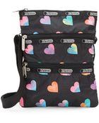 LeSportsac Kasey Heart-Print Crossbody Bag - Lyst