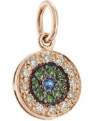 Ileana Makri 18-Karat Rose Gold Diamond/Tsavorites/Blue Sapphire Necklace - Lyst