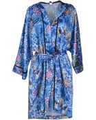 Just Cavalli Dressing Gown - Lyst