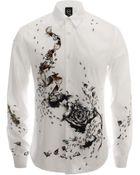 McQ by Alexander McQueen Lost & Found Print Shirt - Lyst
