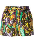 Etro Printed Shorts - Lyst