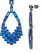 ABS By Allen Schwartz Geometric Chandelier Earrings - Lyst