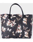 Givenchy Antigona Shopping Bag With Magnolia Print - Lyst
