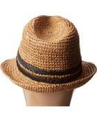 Roxy Witching Raffia Straw Hat - Lyst