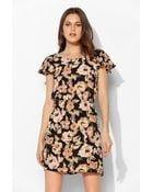 Pins And Needles Plungeback Fit Flare Dress - Lyst