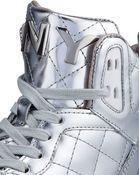 DKNY Cleo Luxe Metallic Sneaker - Lyst
