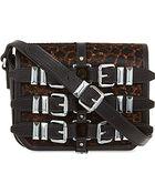 The Kooples Leopard Print Satchel Bag - For Women - Lyst