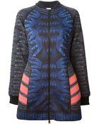 Adidas X Mary Katrantzou Track Jacket Dress - Lyst