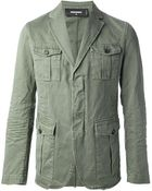 DSquared2 Military Style Jacket - Lyst