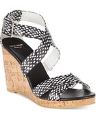 Cole Haan Women'S Jillian Wedge Sandals - Lyst