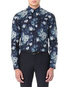 PS by Paul Smith Floral-print Slim-fit Shirt - For Men - Lyst