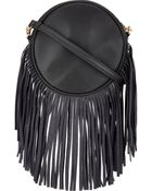 Deux Lux Fringed Small Circle Crossbody - Lyst