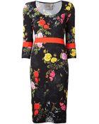 Preen By Thornton Bregazzi Neal Jersey Dress - Lyst