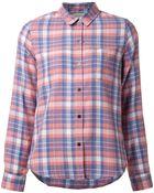 Current/Elliott Checked 'Slim Boy' Shirt - Lyst
