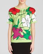 Moschino Cheap & Chic Pullover - Tropical Print - Lyst