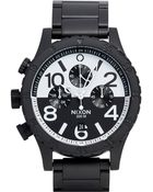 "Nixon ""48-20 Chrono"" Watch - Lyst"