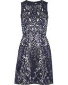 Matthew Williamson Printed Satin Dress - Lyst