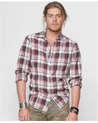 Denim & Supply Ralph Lauren Benham Madras Plaid Shirt - Lyst