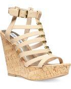 Steve Madden Womens Indyanna Platform Wedge Sandals - Lyst