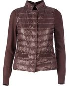 Herno Paneled Quilted Jacket - Lyst