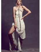 Free People Womens Limited Edition Gianna'S Dress - Lyst