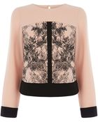 Oasis Tree Blossom Patched Top - Lyst