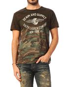 Denim & Supply Ralph Lauren Short Sleeve T-Shirt - M16-O981Pcprjyr3Cmw - Lyst