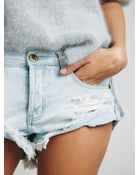 One Teaspoon Womens Bandit Denim Cutoffs - Lyst