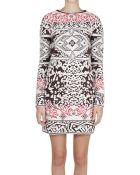 Emilio Pucci Mohair Wool Jacquard Dress - Lyst