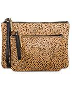 Linea Pelle Haircalf Cosmetic Bag Set - Lyst