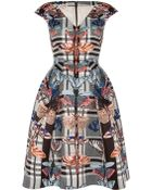 Temperley London Arielle Structured Dress - Lyst