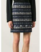 Proenza Schouler Bouclé Panel Skirt - Lyst