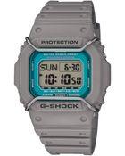G-Shock Men'S Digital Gray Resin Strap Watch 49X43Mm Dwd5600P-8 - Lyst