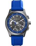 Michael Kors Outrigger Stainless Steel Chronograph Watch Gunmetal - Lyst