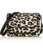 Marni Trunk Leopard-Print Calf Hair Shoulder Bag - Lyst