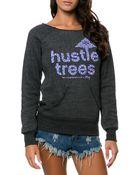 LRG The Hustle Trees Crewneck - Lyst