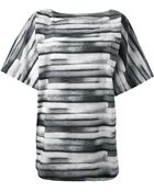 Marc By Marc Jacobs Brush Stroke Print Tunic - Lyst