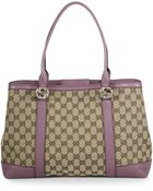 Gucci Miss Gg Original Gg Canvas Tote - Lyst