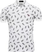 Fred Perry Drake'S Paisley Polo Shirt - Lyst