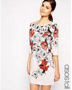 Asos Tall Beautiful T-Shirt Dress - Lyst