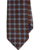 Barneys New York Plaid Neck Tie - Lyst