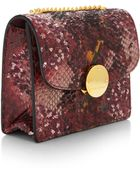 Marc Jacobs Mini Trouble Hand-Painted Sequined Python Bag - Lyst