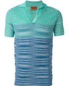 Missoni Polo Shirt - Lyst